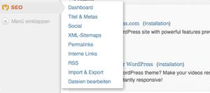 SEO Suchmaschinenoptimierung für Wordpress